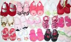 NWT Gymboree Newborn Baby Girl Crib Shoes Sandals 01 02 03 04