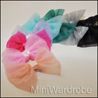 Organza Bow Hair Clip Satin Ribbon Fancy Gossip band