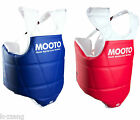 Mooto WTF Approved TaeKwonDo CHEST protector Tae Kwon Do Korea Blue Red SET(2ea)