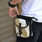 New Men's Casual Canvas Fanny Waist Bag-2029