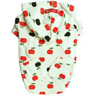 New Pet Clothes Dog Apple Hoodie Puppy Shirts (J-9)