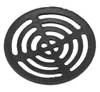 "Black Cast Iron Round Gully Grid Man Hole Grate Drain Cover 5"" 6"" 7"" 8"" 9"" 11"""