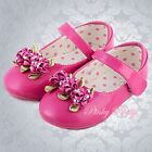 Baby Wedding Flower Girl Bridesmaid Dress Shoes UK Size 5.5-8 GS006