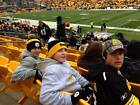 Lower level sideline tickets, ALL games Pittsburgh Steelers, 4 by visitors bench