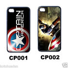 New* HOT CAPTAIN AMERICA iPHONE 4 Black CASE