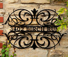 UNIQUE and DECORATIVE: Indoor - Outdoor Personalized Name Sign or Address Sign