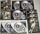 NFL Oakland Raiders AFC West FATHEAD Tradeables ~ collectible cards wall decal