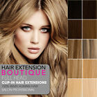 """22"""" Clip In Remy Human Hair Extensions 8 piece Full Head Set - Fast Delivery"""