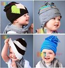 FANTASTIC  BOYS  COTTON  HAT  BABY  TODDLER  BEANIE  PATTERN  STRIPES
