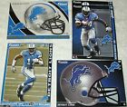 NFL Detroit Lions NFC North FATHEAD Tradeables ~ collectible cards wall decal