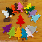 Felt Die Cuts - Christmas Tree - Crafts - Topper - Applique - Cardmaking