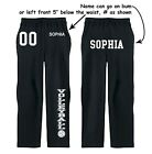 Volleyball Sweatpants Custom Name & #  Sweats Team Pants Club Personalized