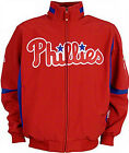 Philadelphia Phillies Authentic Majestic Therma Base Premier Jacket  Big & Tall