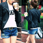 AU SELLER Vintage Navy Blue Denim Hot Short Jean pants p100