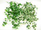 45cm Wired Artificial Ivy Trailing Plant for Hanging Baskets ~165 Ivy Leaves