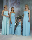 FOB-016 wedding bridesmaid dress party prom bridal gown