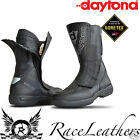 DAYTONA TRAVEL STAR PRO GORETEX GORE TEX LEATHER MOTORCYCLE BIKE TOURING BOOTS