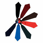 Boys Girls Plain Elastic Ties -  School Uniform Wear