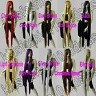60 Inch Free Shipping Extra Long Hair Straight Synthetic Cosplay Wig All Color