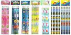 18 Pencils Various Designs, Dinosaur, Pirate and more Birthday Party Bag Fillers