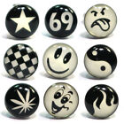10mm Glow in the Dark Stud Earring - high quality stainless steel logo earing