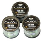 NGT Bulk Spool of Camou Camo Carp Fishing Line 10, 12, 15 18 lb