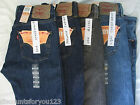 MENS LEVI'S 501 Button Fly Straight Leg Jeans NWT