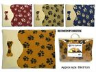LARGE LUXURY PET DOG DOGGY PUPPY PUP CAT MAT BED CUSHION MATTRESS PAW PRINT P506