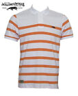 Jack & Jones Vintage Polo Shirt Mens Model: Thousand Striped White Coral Gold