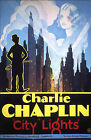 CITY LIGHTS Movie Poster 1931 Charlie Chaplin Hollywood