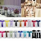 "30PCS Satin Chair Sashes Bows 15cm*275cm Wedding Party 6""x 108"" Decorations"