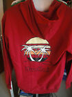Boo Hai Hoody With Logo's - Sizes S & L - Deep Red - BNWT - Free Shipping