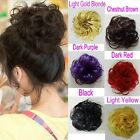 All Color Big Curly Synthetic Hair Bun Piece Wig Scrunchy Free Shipping 41