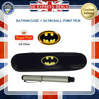 NEW BATMAN PARKER VECTOR BALLPOINT BALL POINT PEN BLUE INK LIMITED EDITION