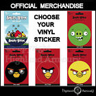 Angry Birds Vinyl Sticker - Choose your Design - Official Mechandise New
