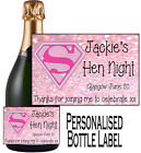 PERSONALISED BOTTLE LABEL WEDDING DAY GIFT FAVOURS WINE, SPIRIT OR CHAMP WDBL 5