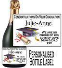 PERSONALISED BOTTLE LABEL FOR YOUR FLOWER GIRL LOVELY GIFT IDEA ANY AGE FG1