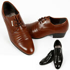 New Trend Mens Italian Style Dress Casual Formal Shoes Black Brown