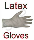 Latex Gloves - Pack Of 300 With Free Postage  3 Boxes Of 100 Gloves