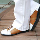 BELIVUS Cool Guy Buffalo leather Casual HANDMADE Men's shoes/BS056/whites