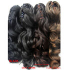 Fashion Women Long Wavy/Curly Ponytail Claw Pony Soft Hair Piece Extensions TOP
