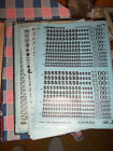 i. NOS Letraset Lettering 10 x 15 Sheet Various Symbols   Use Drop-Down Box