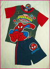 SPIDERMAN Sz 4 5 6 or 8 - PJs Awesome Boys SUMMER PYJAMAS Sleepwear MARVEL - New