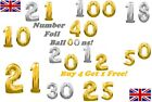 Number foil balloons 2 x Large 40 Inch  / 3 x 40 Inch / 4 x 40 Inch SUPERSIZE!!!