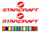 STARCRAFT BOAT STICKERS DECALS FISHING SKIING**ANY SIZE OR COLOR AVAILABLE**