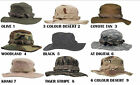 US ARMY RIPSTOP COMBAT BOONIE HATS FISHING JUNGLE SUN AND LEISURE PURSUITS