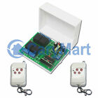 4 CH Multi-Function Universal RF Remote Control Switch For Garage Door Opener AC