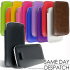 LEATHER PULL TAB CASE COVER POUCH FOR SAMSUNG GALAXY S3 S III i9300