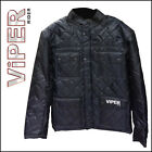 Viper Waterproof Nylon Casual Austin Jacket CE Armour Motorbike Motorcycle