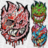 SPITFIRE WHEELS Skateboard Sticker - Zombie A - Flaming Head Logo -